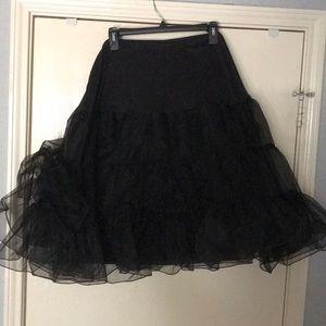 Other - Dressy star women's swing petticoat